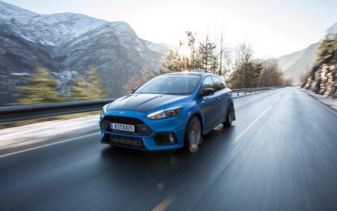 福特的下一个Focus RS可能是强大的混合动力掀背车