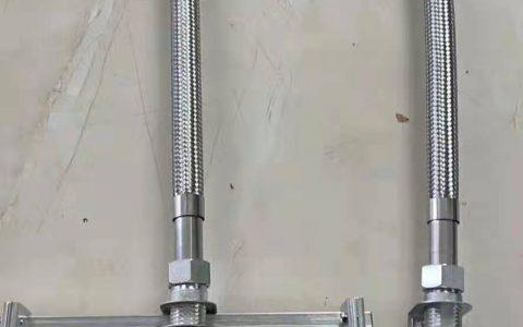 DN20带支架喷淋金属软管