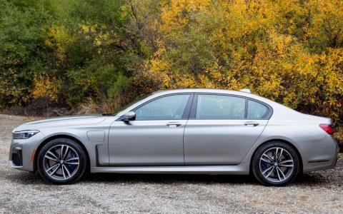 宝马的插电式混合动力BMW 745e 公布起价为66万元