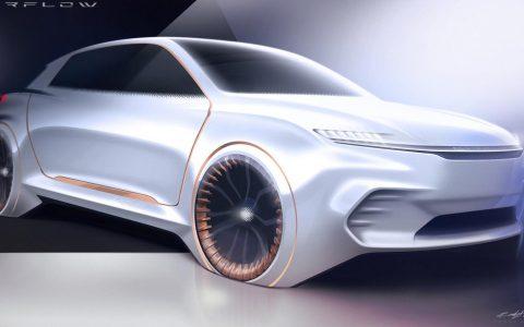 菲亚特克莱斯勒的推出全数字驾驶室Airflow Vision概念车