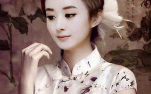 赵丽颖自称太瘦撑不起旗袍:何炅鼓励试一下 却成芒果台最美收藏!