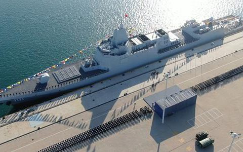 为什么说055型驱逐舰下水意义不输航母?