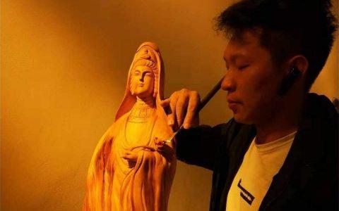 青年木雕艺术家韦静作品欣赏