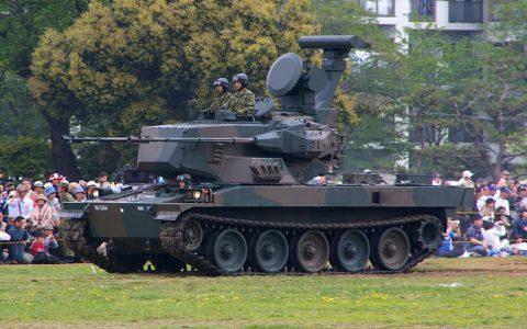 87式自走高射炮