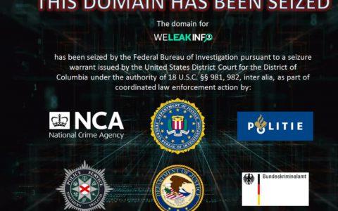 FBI查获专门出售数据泄露信息的WeLeakInfo站点