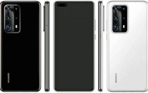 HUAWEI P40系列五镜头迎战Galaxy S20 传有陶瓷版本或2月底公布
