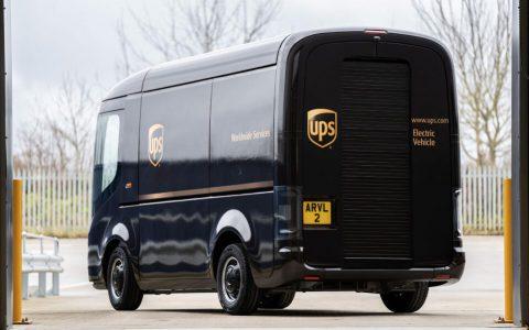 UPS快递将在美国和欧洲使用Arrival的电动卡车
