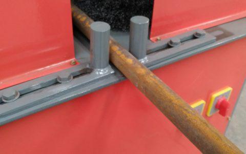 简单钢管除锈机厂家直销