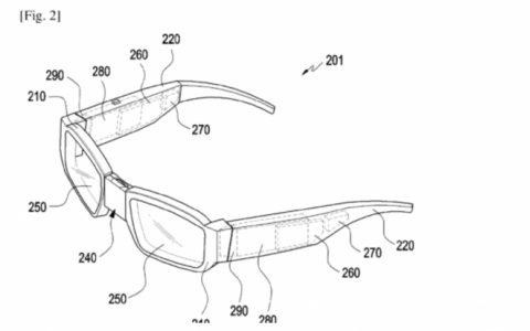 三星智能眼镜新专利,从这台到那台