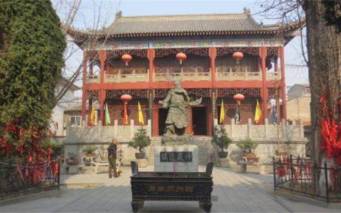 河南新乡:游关帝庙文化商业街,品三国忠义文化