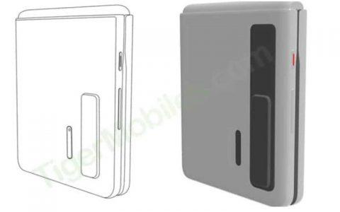 华为将推出真折机?新手机设计专利曝光或挑战Galaxy Z Flip