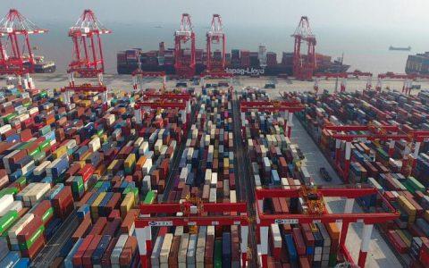中国6月进出口数据上扬对美国进出口下降6.6%