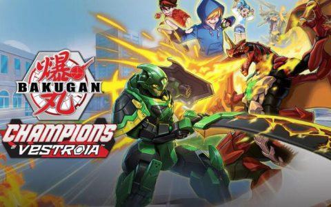动画「爆丸」改编游戏《爆丸:巴斯洛亚之冠军》预计11 月在北美推出