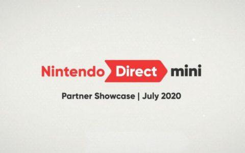 任天堂稍早宣布将于20日播出介绍第三方厂商游戏阵容的「Nintendo Direct Mini: Partner Showcase 2020.7」