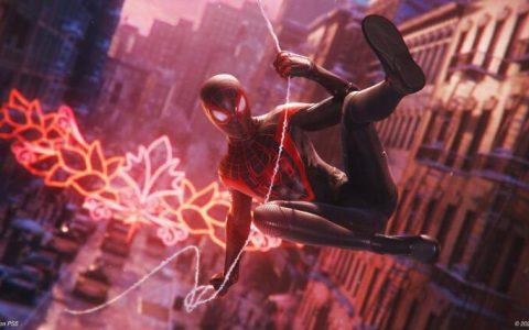 《漫威蜘蛛人:迈尔斯摩拉斯》将提供高流畅度的4K 60fps 效能模式供玩家选择