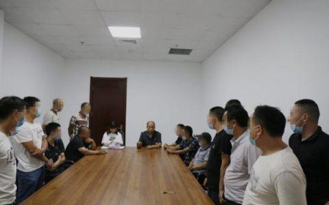 河南武陟法院诉前化纠纷 助力22名农民工讨薪