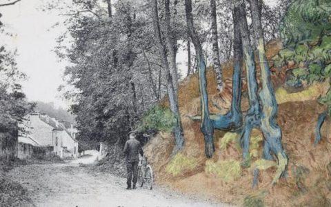 梵高遗作所绘场景终有答案, 专家凭一张明信片破艺术界百年谜团