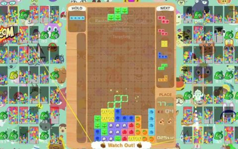 《俄罗斯方块99》游戏将举办「TETRIS王者杯」第11回