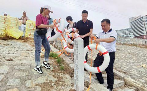 福建省首批爱心救生圈发放活动在泉州东梅水库启动