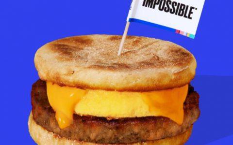 星巴克推植物猪柳汉堡,美国人造肉公司Impossible Foods计划第四季作零售销售
