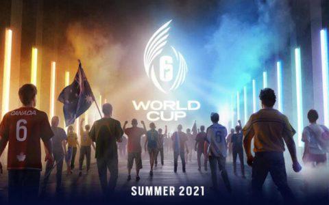 《虹彩六号》世界杯赛事2021 年夏季登场代表国家角逐世界冠军荣耀
