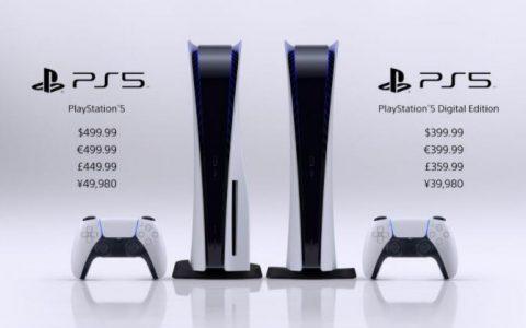PlayStation 5 主机发售日与售价正式公布预定11 月12 日起全球陆续上市