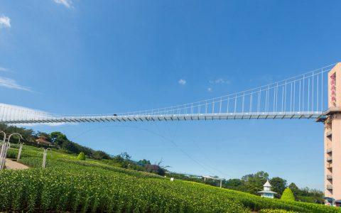 金秋九月去成都漫花庄园体验网红玻璃桥的惊险
