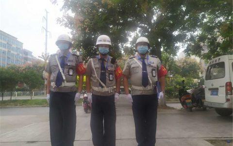 渭南保安纠察大队华阴分队重拳出击,遏制保安服务市场不规范行为