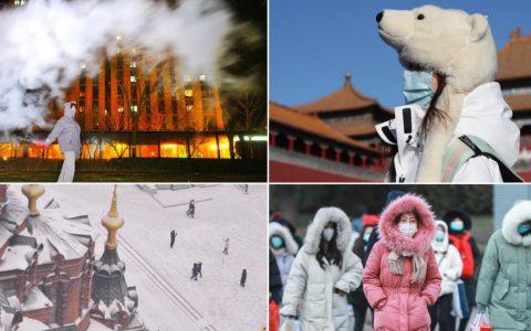 2021年的首个寒潮:北京-19℃迎1966年以来最冷清晨网民:出门如行走的冻肉