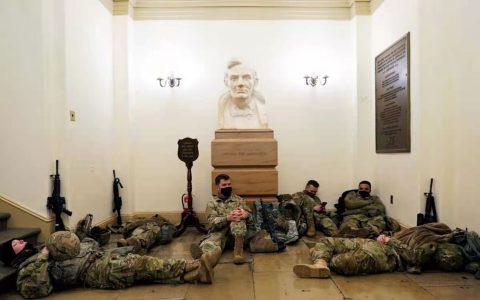 """效仿""""独立战争""""?美总统就职典礼安全引担忧"""