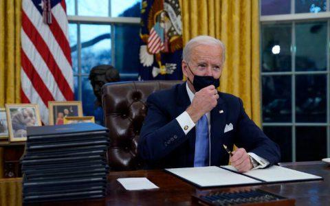 美国总统拜登(Joe Biden)就职演说全文(中英对照)