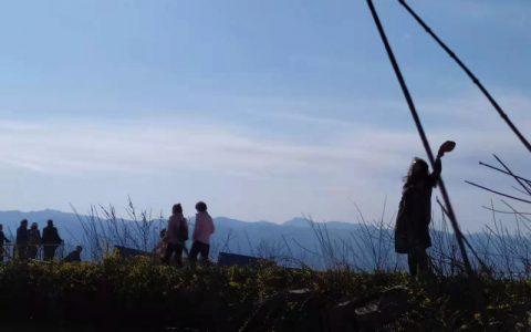 这个春天你打算如何开场?在五云山寻找心中的那面旗帜!