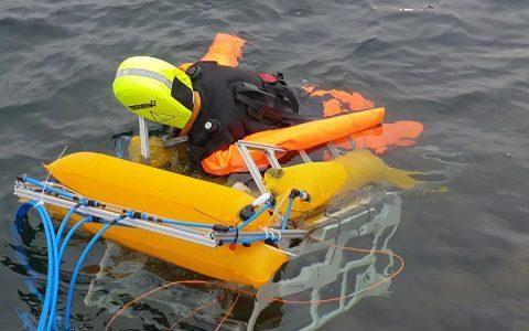 陈根:水面救援机器人,从水下升起救援更及时