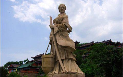 博山女神颜文姜及孝妇河的传说